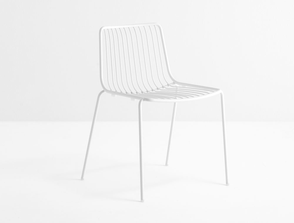 Outdoor chairs chair nolita by pedrali for Sedie design north america