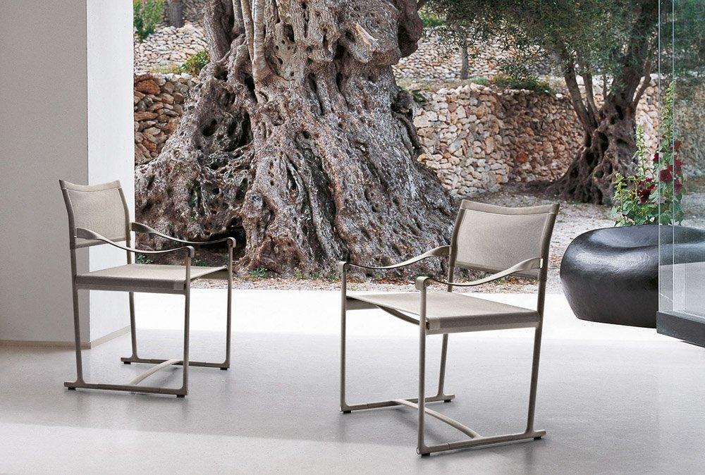 Sedie da giardino sedia mirto outdoor da b b italia for Sedie outdoor design