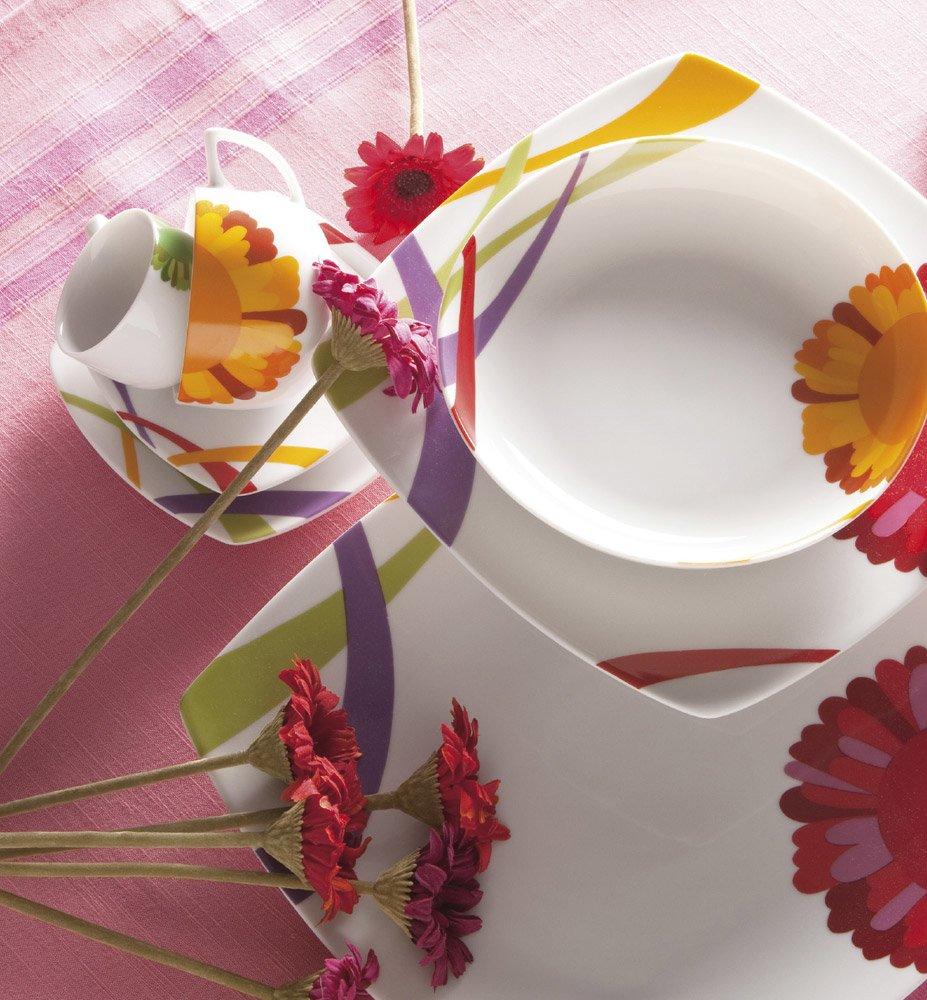 Servizio piatti colorati tutte le offerte cascare a for Servizio di piatti