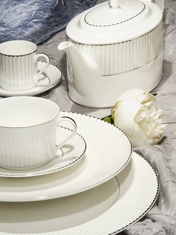 Servizio Eastgate Forma White Bone China