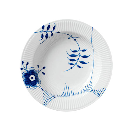 Servizio Blue Fluted Mega
