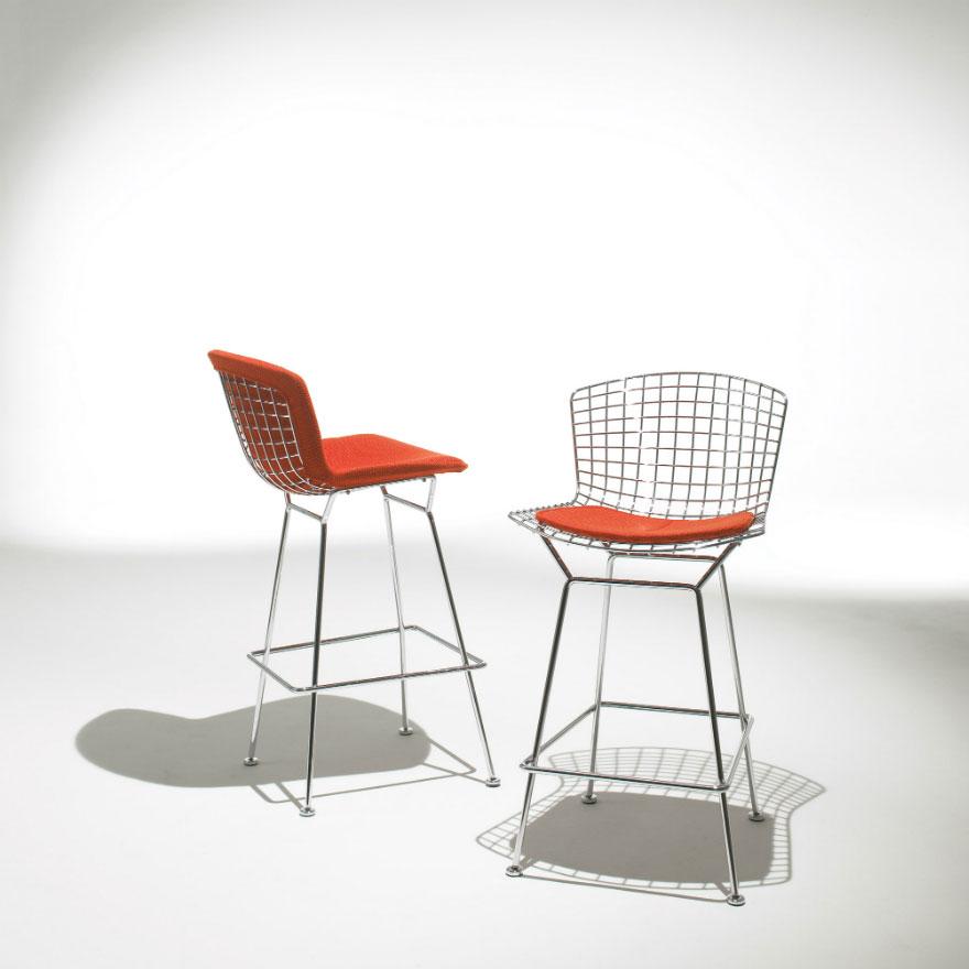 catalogue tabouret bertoia knoll designbest. Black Bedroom Furniture Sets. Home Design Ideas