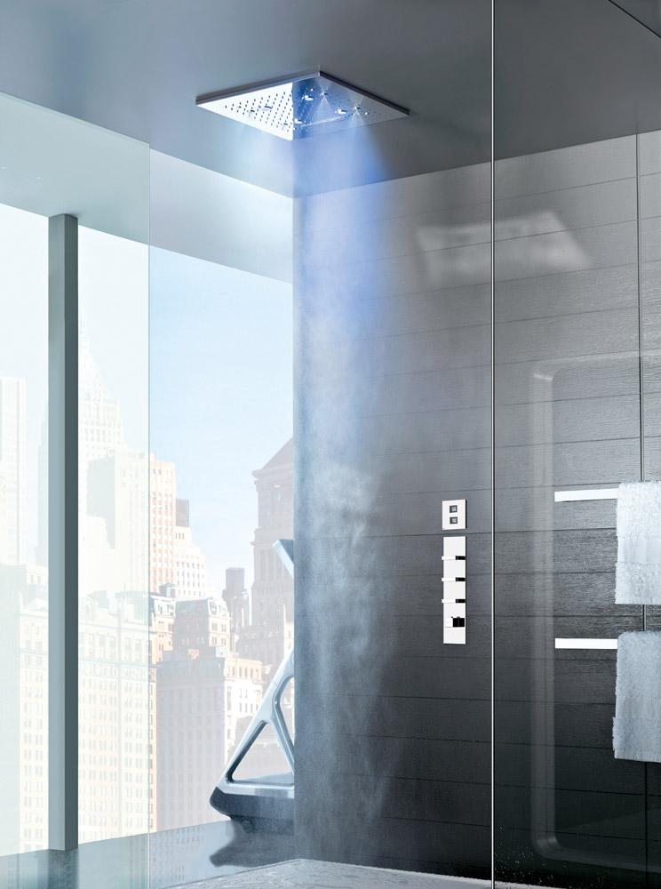 Soffione doccia soffione doccia colour da gessi - Soffione doccia soffitto ...