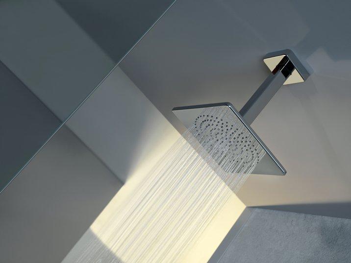 Gessi private wellness soffione doccia a soffitto serie - Altezza soffione doccia ...