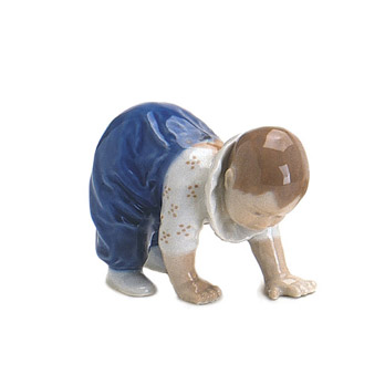 Statuetta Bimbo carponi
