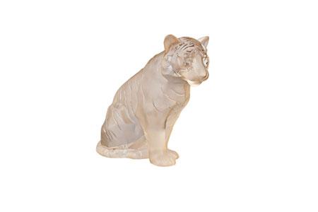Statuetta Tigre Seduta