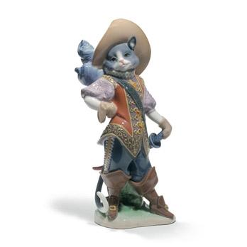 Statuetta Il gatto con gli stivali