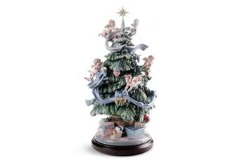 Statuetta Grande albero di Natale