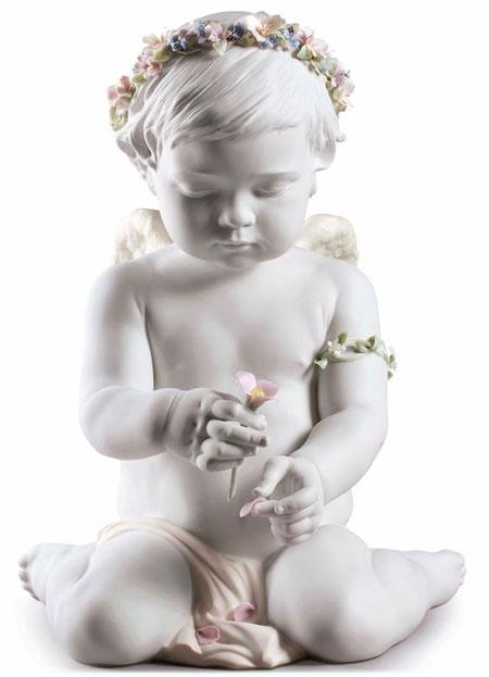 Statuetta Il cherubino dell'amore