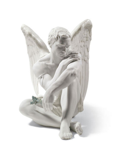 Statuetta Angelo custode