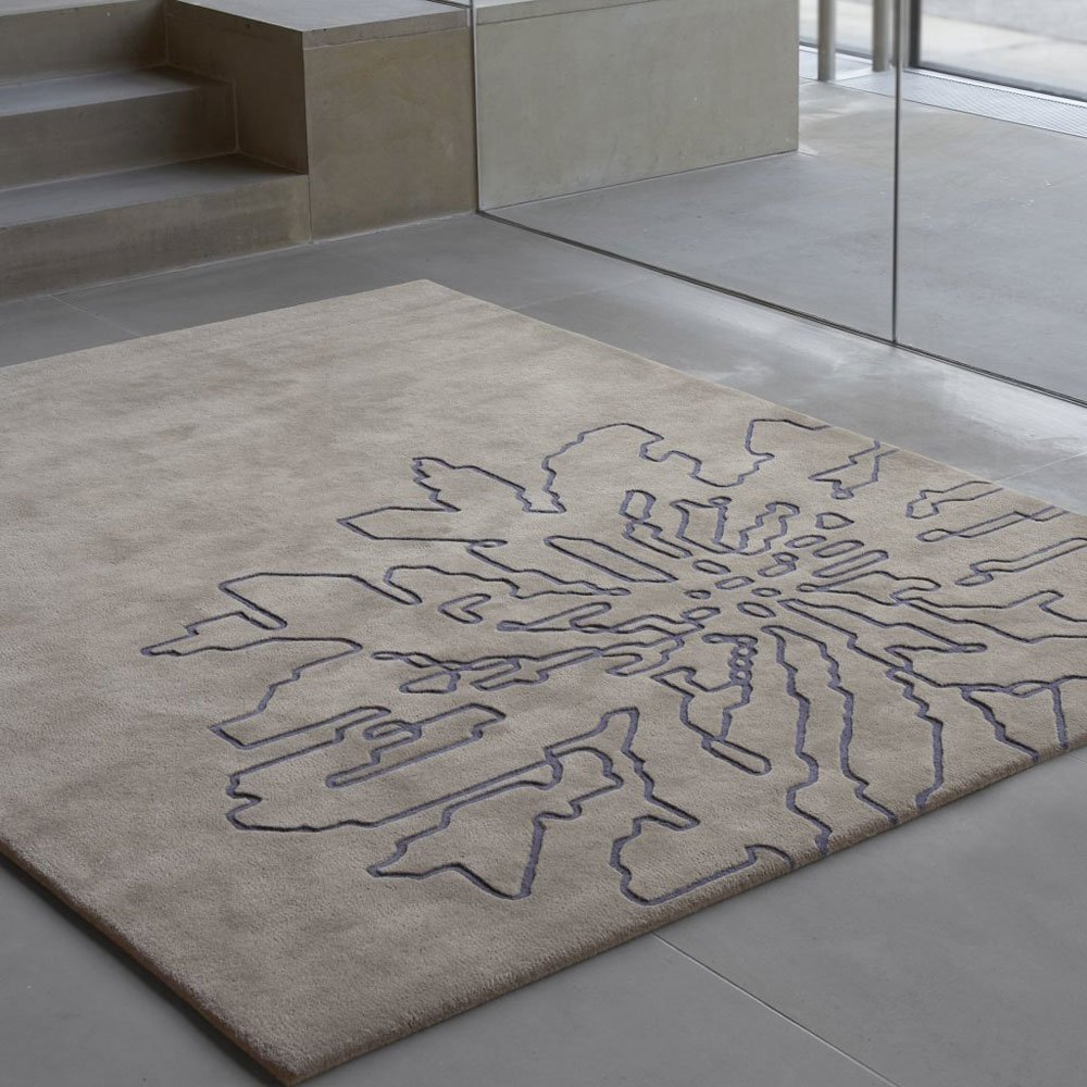Kinnasand Teppiche Teppich Flake  Designbest