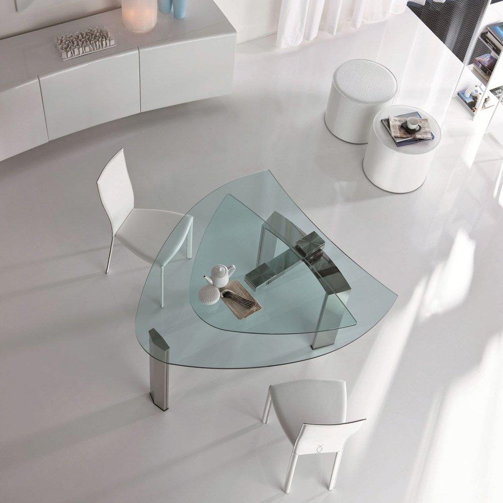 Tavolo Cristallo Prolunghe Integrate Brera Cattelan : Tavoli tavolo daytona da cattelan italia