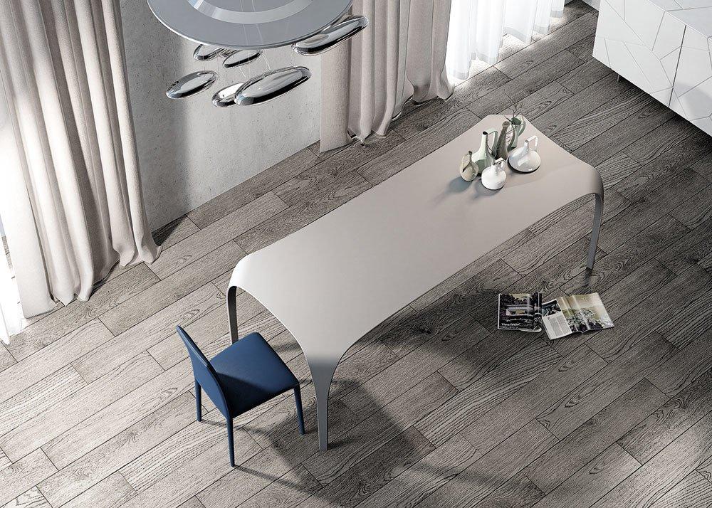 Tavoli tavolo unico da riflessi for Tavolo atlante riflessi