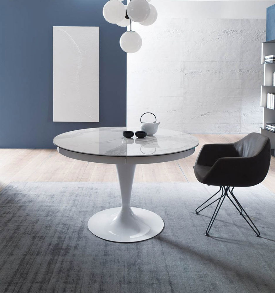 Tavoli tavolo eclipse da ozzio design for Tavolo eclipse di ozzio design