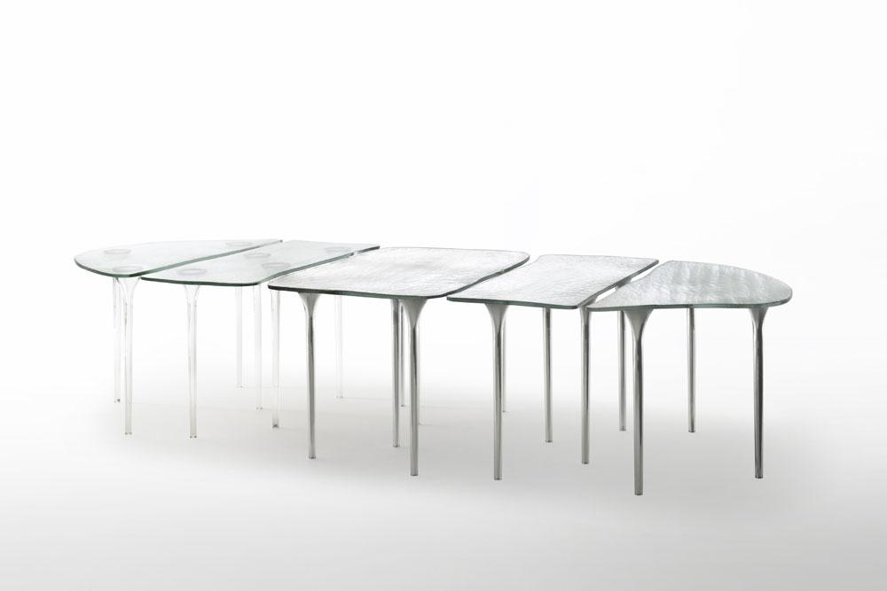Tavoli tavolo specchio di venere da glas italia - Specchio da tavolo ...