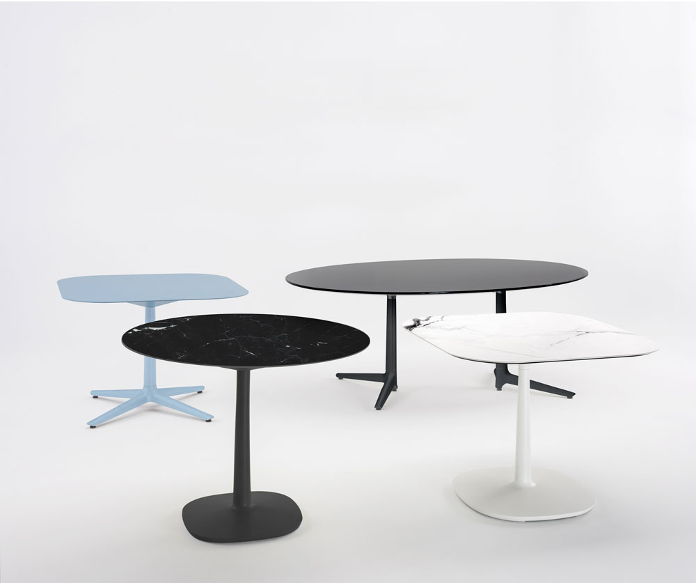 Tables table multiplo by kartell for Table kartell