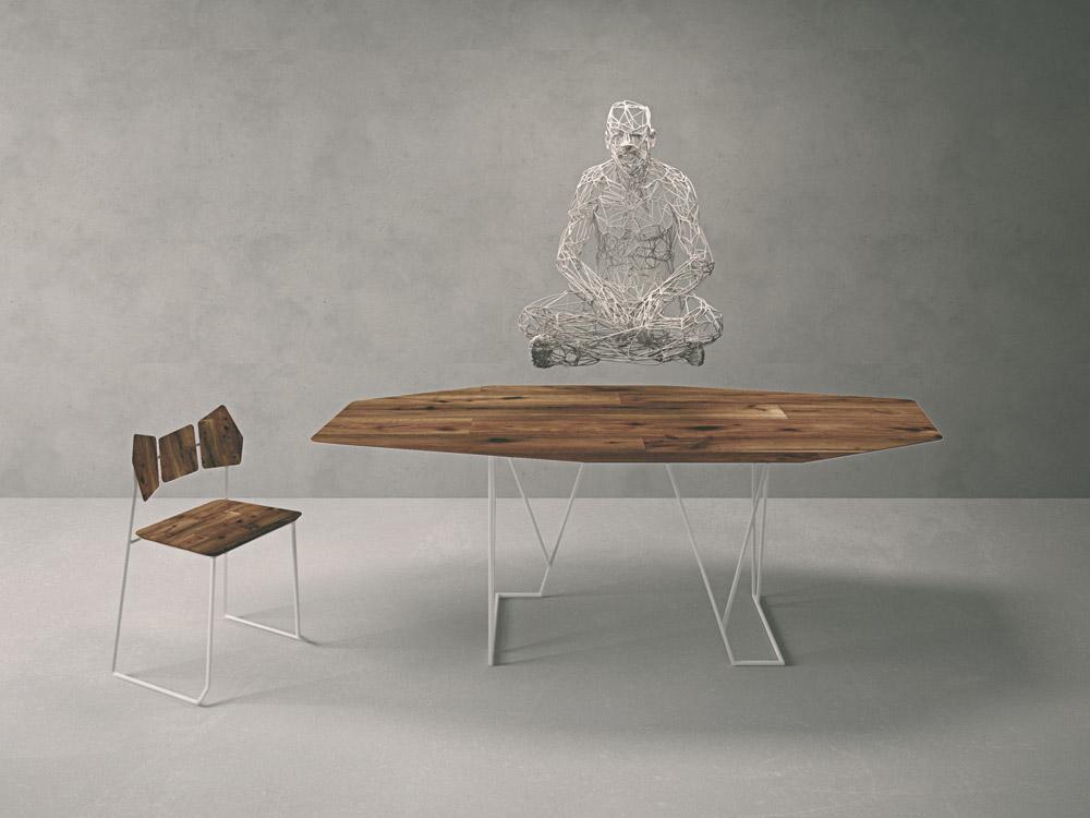 Tavoli tavolo kinoki da lago for Sedie lago prezzi