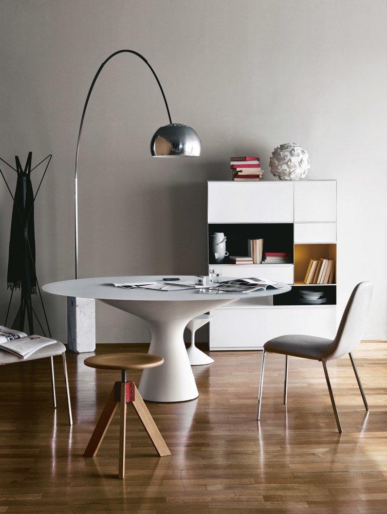Zanotta Tische Tisch Blanco Designbest