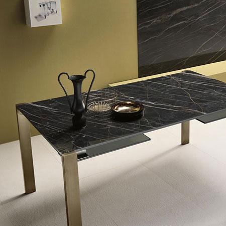 Tavolo Livingstone Ceramic+Glass di Tonelli Design