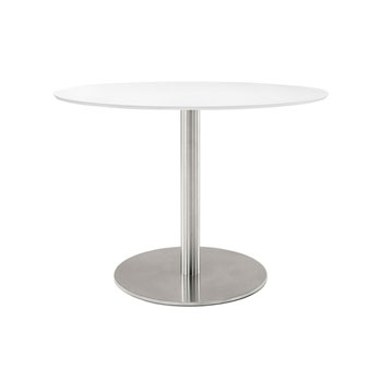 Table Inox Ellittico