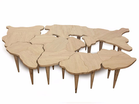 Table Pangea by Riva 1920