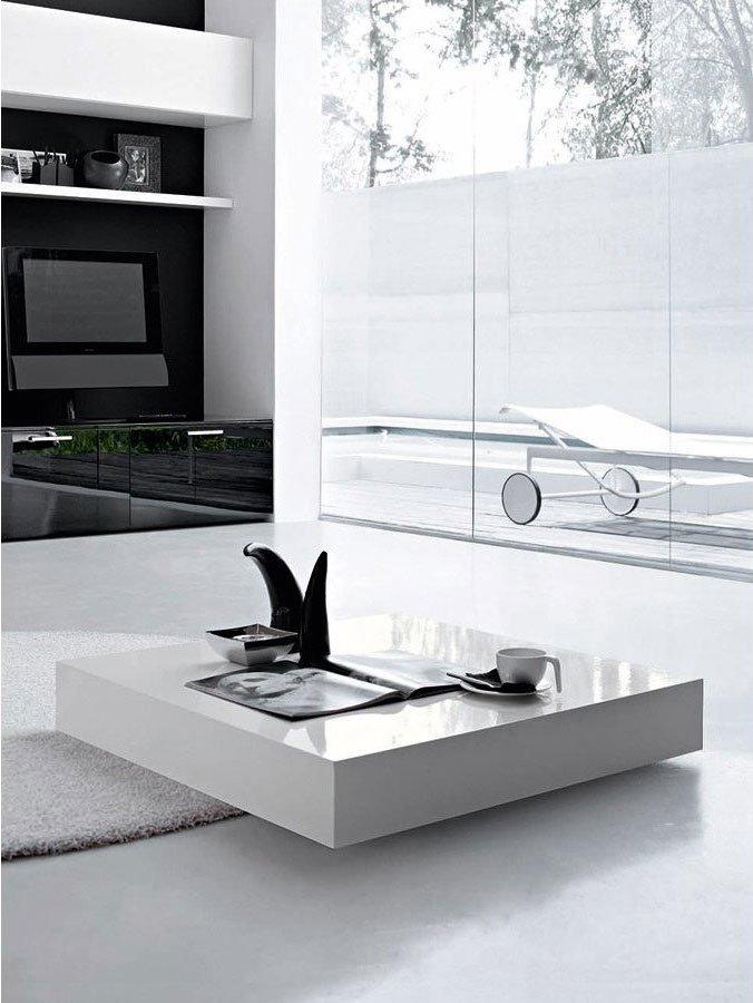 Tavolini tavolino podio da compas for Tavolini da salotto bianchi