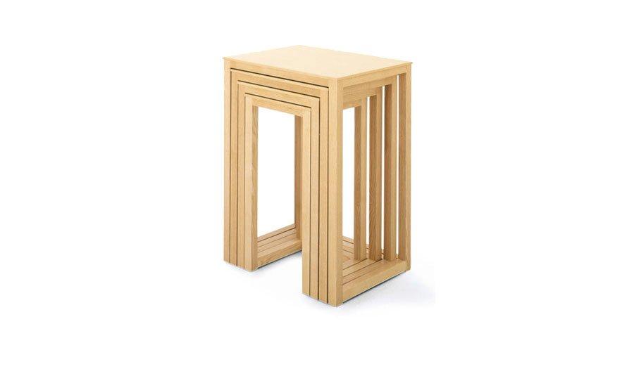 wittmann beistelltische beistelltisch satztische hoffmann designbest. Black Bedroom Furniture Sets. Home Design Ideas