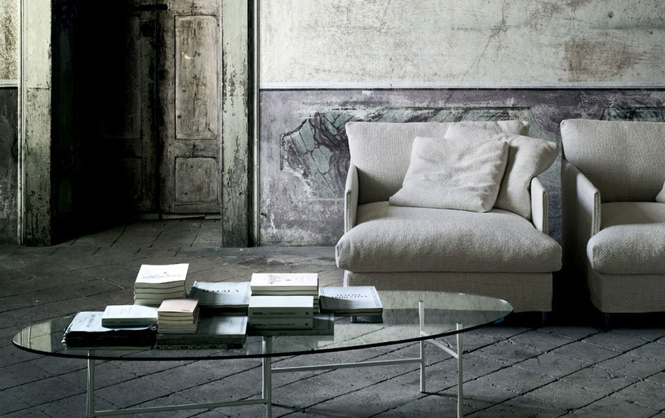 Small Tables: Coffee Table Hinge by Living Divani