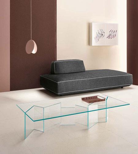Tavolino Metropolis [a] di Tonelli Design