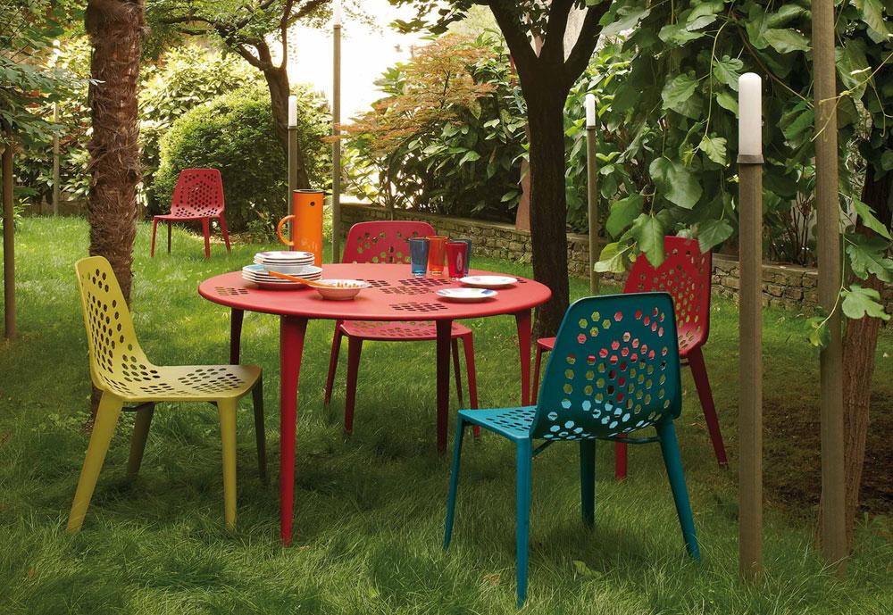 Tavolini da esterno: Tavolo Pattern da Emu