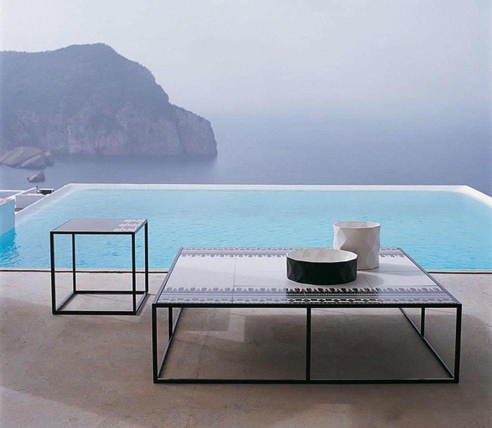 Tavolini da esterno tavolino canasta da b b italia for Tavolini da esterno