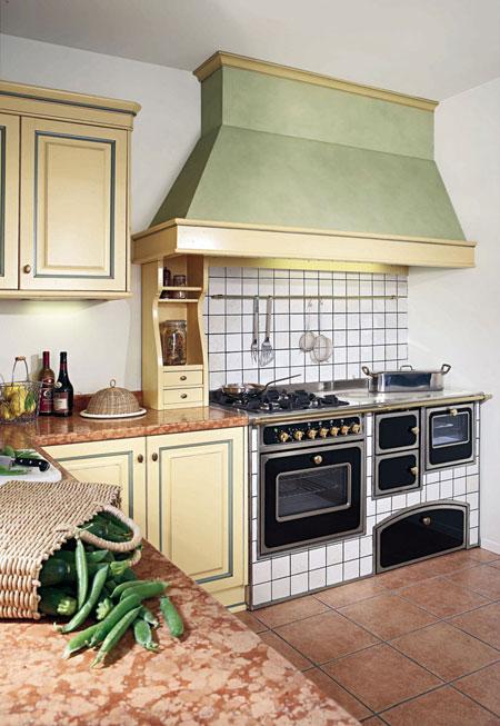 Cucina Monoblocco MB Rustico 1200
