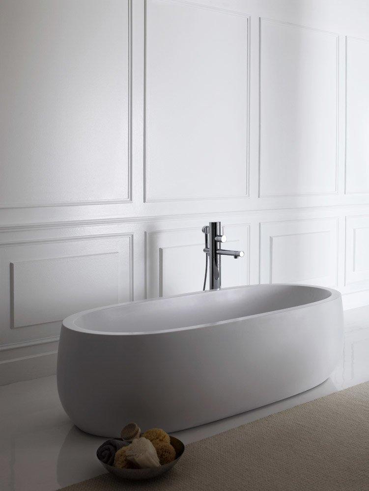 laufen badewannen badewanne alessi one solid surface. Black Bedroom Furniture Sets. Home Design Ideas