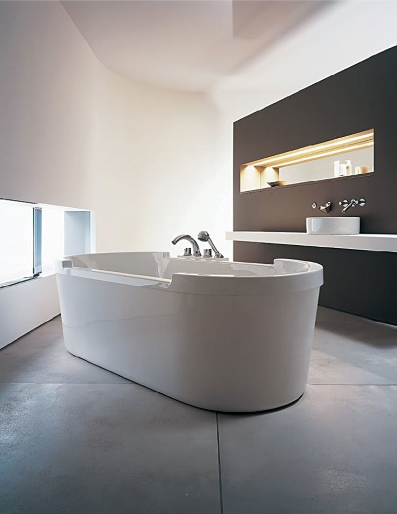 Vasche vasca starck da duravit for Designbest outlet