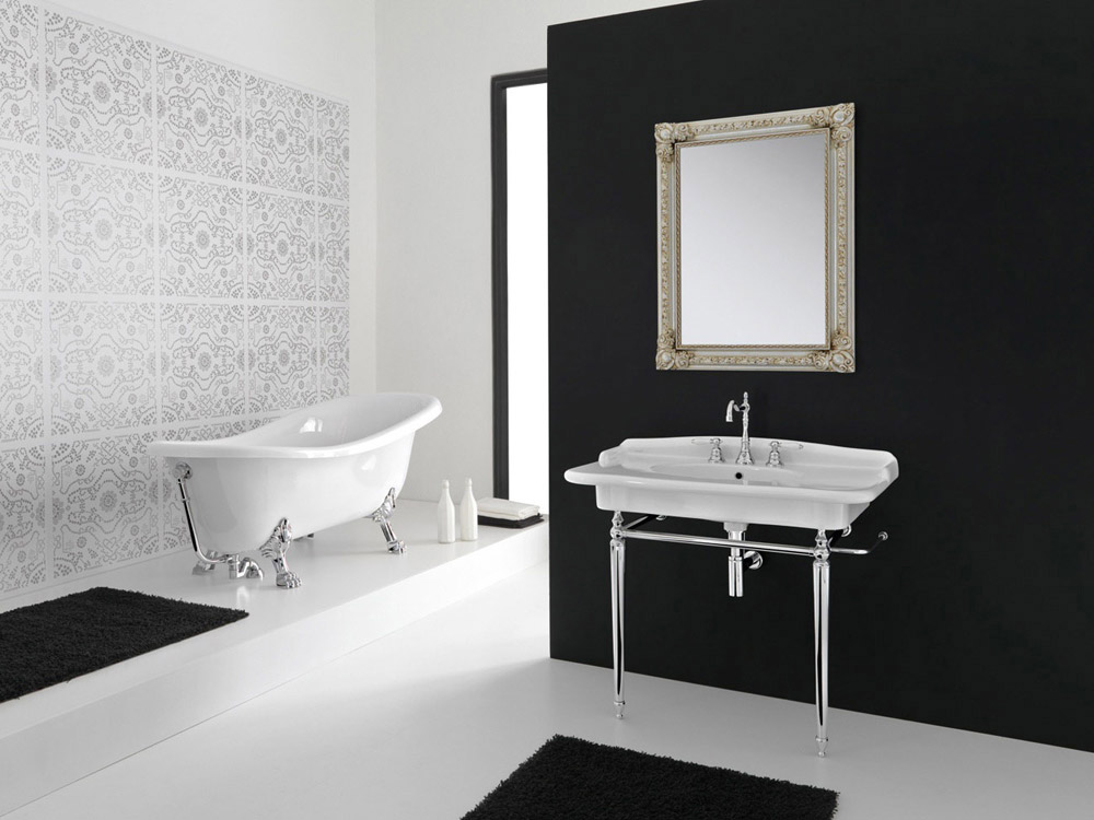 Vasche vasca ellade da hidra ceramica - Vasche da bagno roma ...