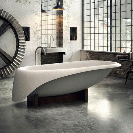 Badewanne Concrete