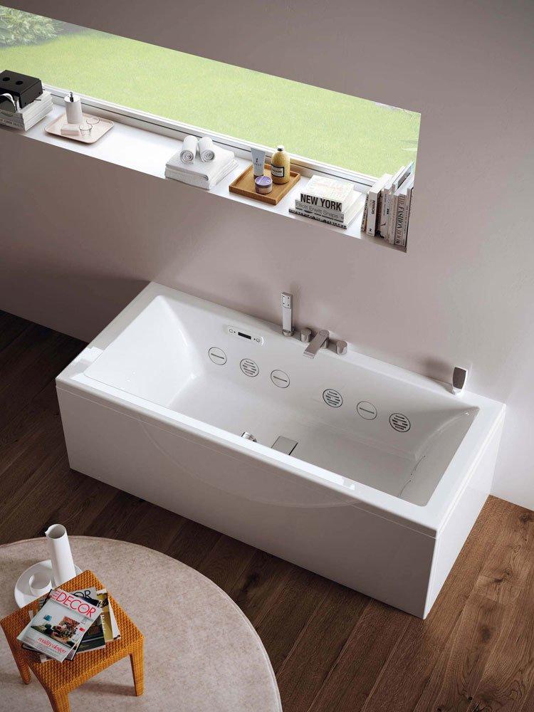 Whirlpool bathtubs whirlpool bathtub wilmotte by teuco - Teuco whirlpool ...