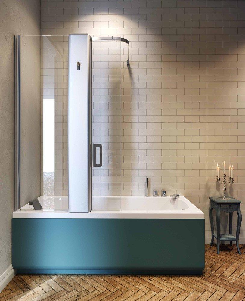 Vasche idromassaggio vasca idromassaggio pop up da glass 1989 - Combinato vasca doccia ...
