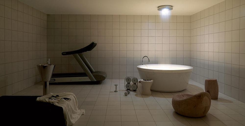 whirlpool bathtubs whirlpool bathtub geo 180 free standing by kos. Black Bedroom Furniture Sets. Home Design Ideas