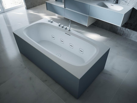 Whirlpool bathtub Outline