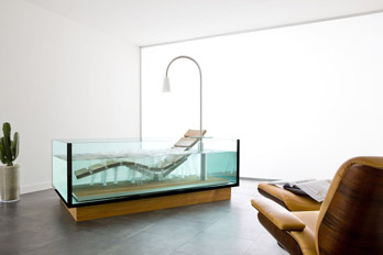 Whirlpool bathtub Water Lounge