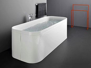 Whirlpool Bathtub Geo 170x70 Free Standing