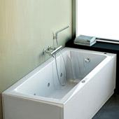 Vasche idromassaggio: Vasca idromassaggio First da Ideal Standard