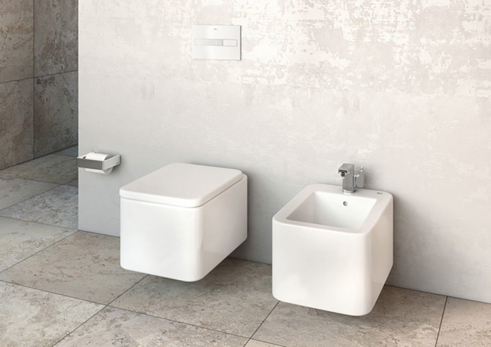 Wc and bidets wc and bidet element by roca - Inodoros modernos ...