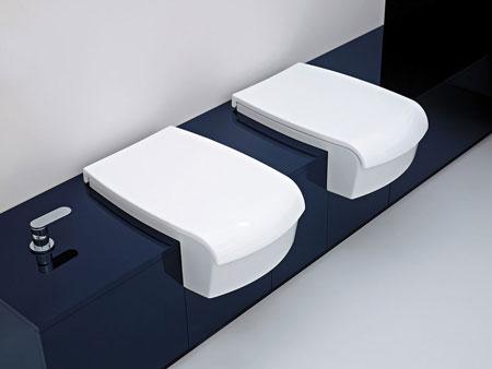 WC et bidet Una