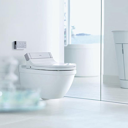 Wc and bidet SensoWash® Starck e