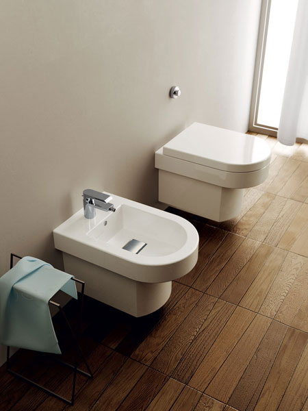 Wc and bidet Wilmotte