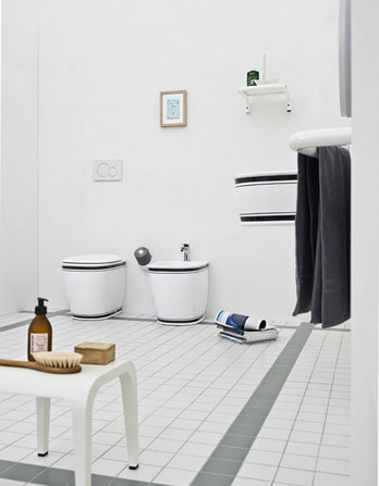Wc and bidet Azuley