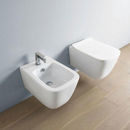 WC und Bidet A16