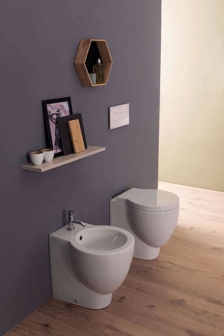 WC et bidet Bowl